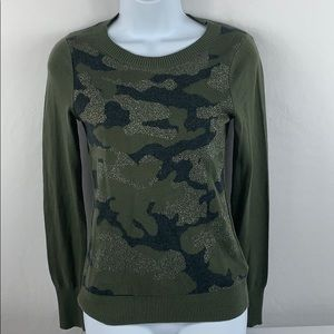 Express Brand XS Camo Sweater